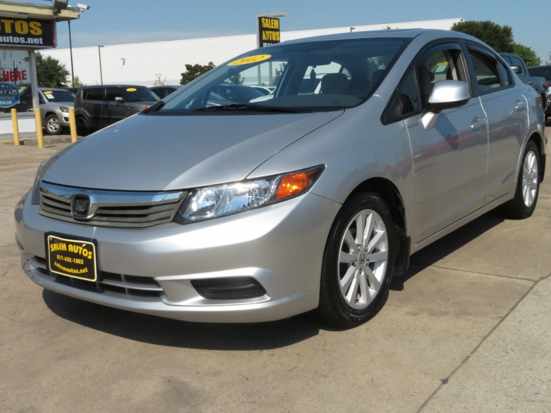 Honda Civic Sdn 2012 price $8,990