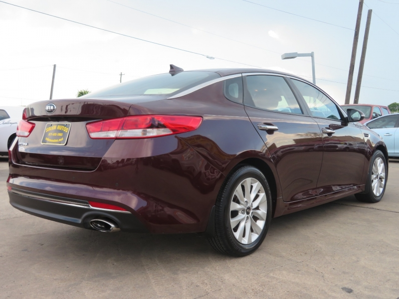 Kia Optima 2018 price $16,995