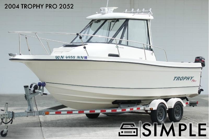 Bayliner Trophy Pro 2052 2004 price $21,500