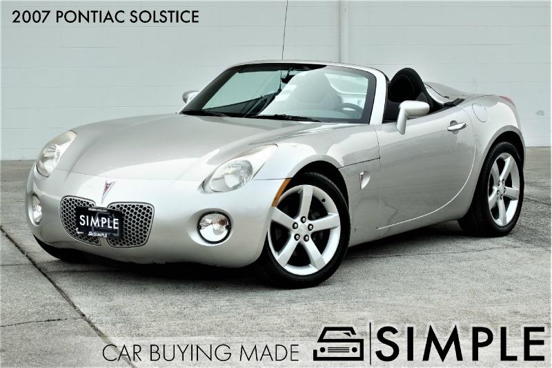 Pontiac Solstice 2007 price $7,950
