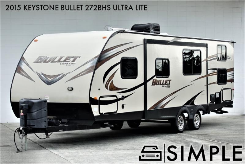 Keystone Bullet 272BHS 2015 price $25,900