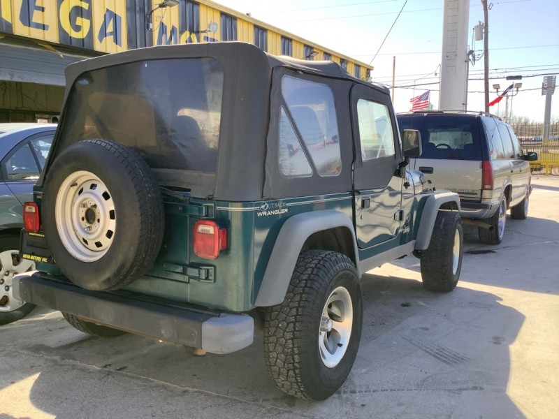 JEEP WRANGLER / TJ 1997 price $1,025