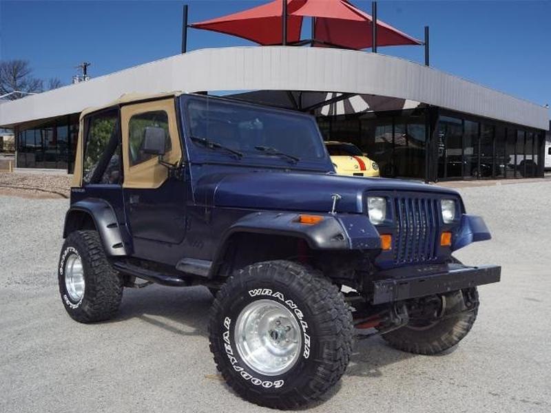 Jeep Wrangler 1991 price $10,850
