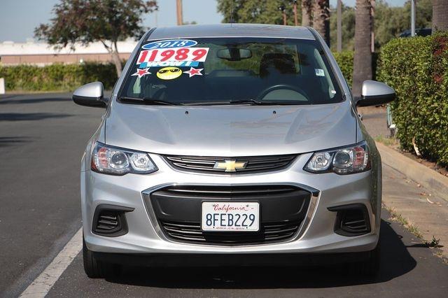 Chevrolet Sonic 2018 price $9,989