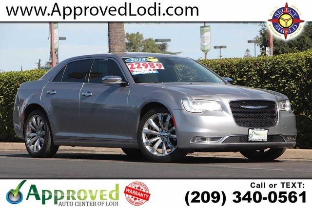 Chrysler 300 2018 price $21,989