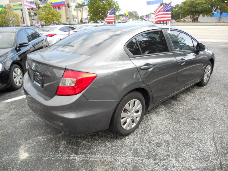 HONDA CIVIC 2012 price $7,900