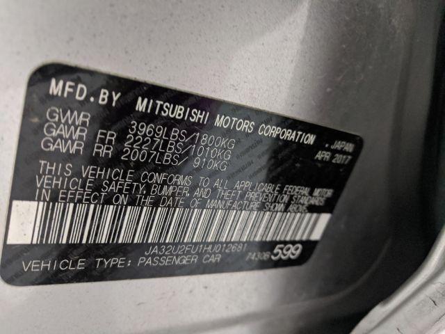 Mitsubishi Lancer 2017 price Call for Pricing.