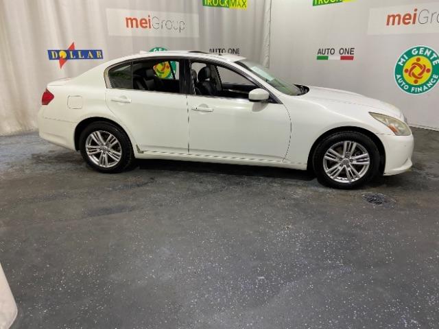Infiniti G Sedan 2012 price $0