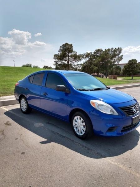 Nissan Versa 2012 price $7,450