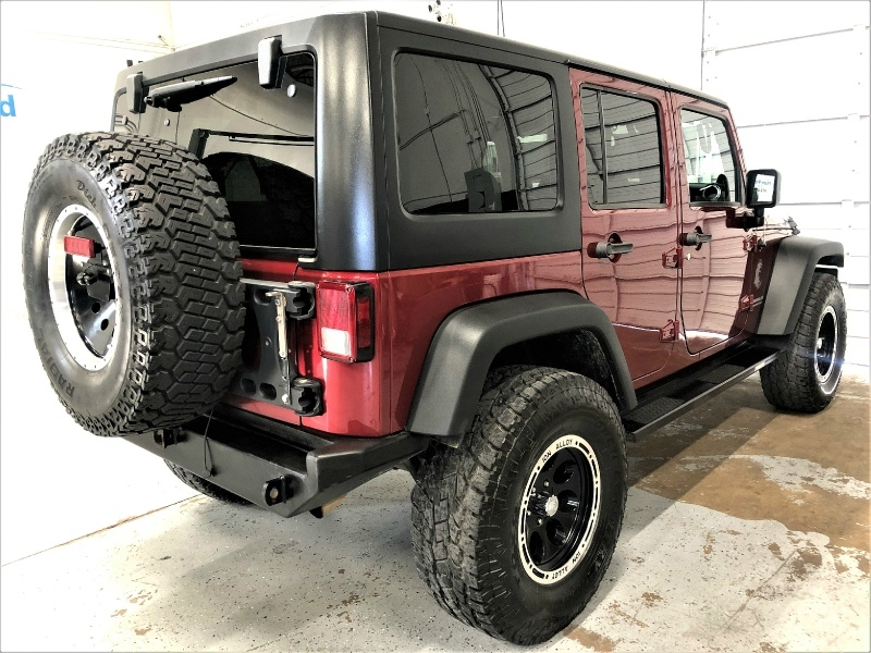 Jeep Wrangler Unlimited 2013 price $25,695