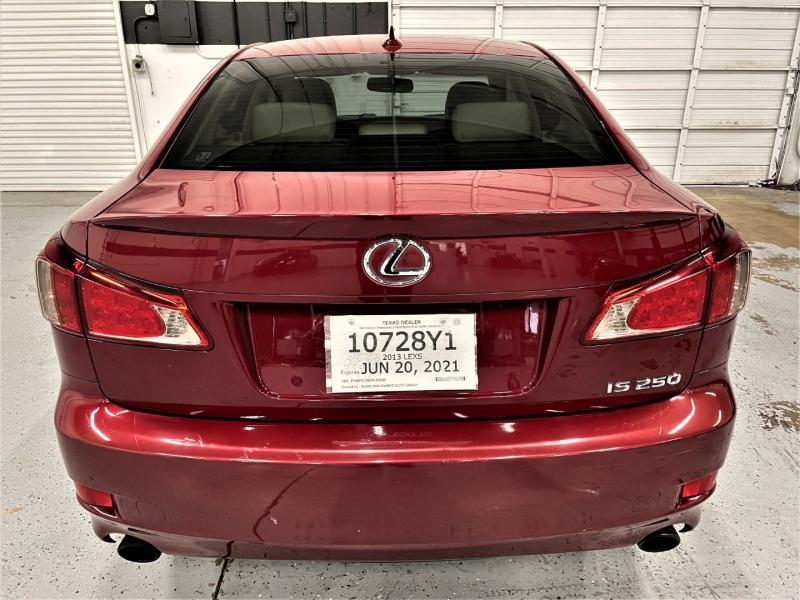 Lexus IS 250 2013 price $12,695