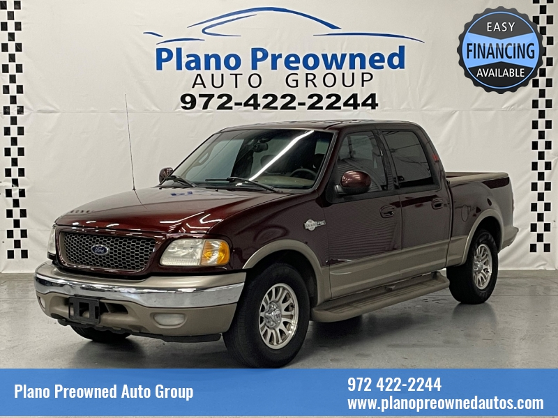 Ford F-150 SuperCrew 2001 price $11,895