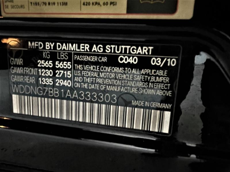 Mercedes-Benz S-Class 2010 price $17,995