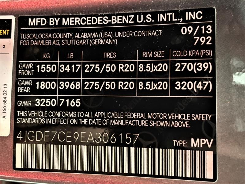 Mercedes-Benz GL-Class 2014 price $23,995