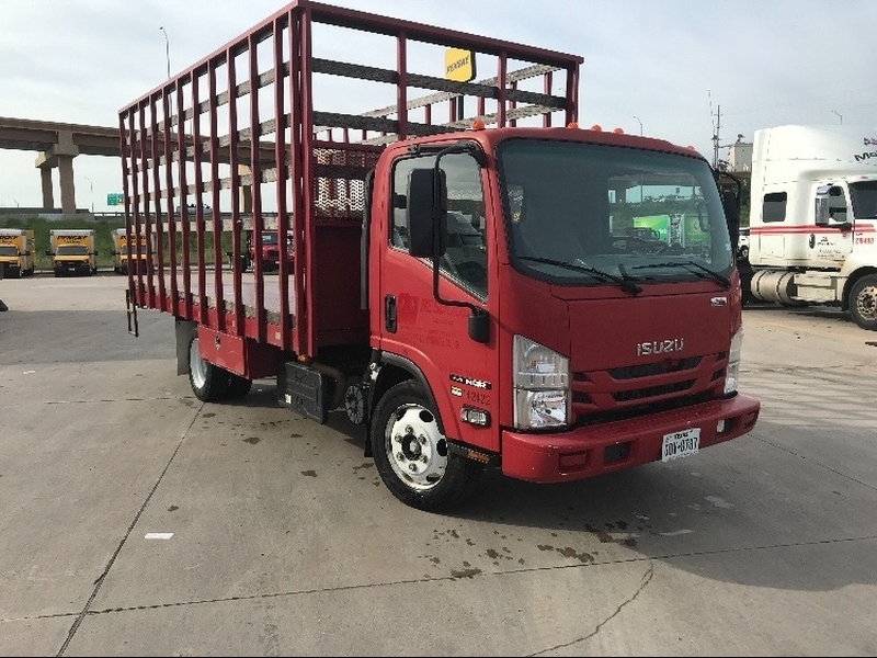 Isuzu NQR 18 ft bed red in color 2016 price $34,999