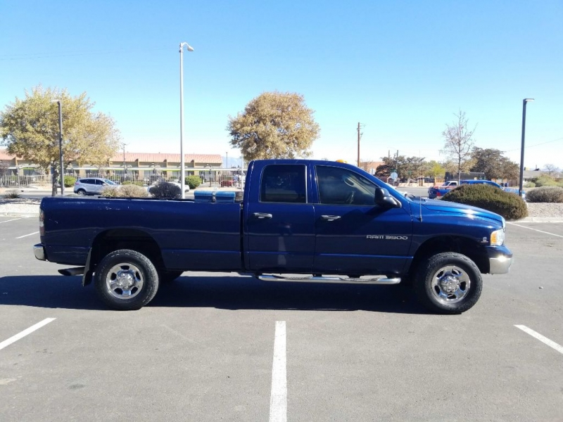 DODGE RAM 3500 2003 price Call for Pricing.