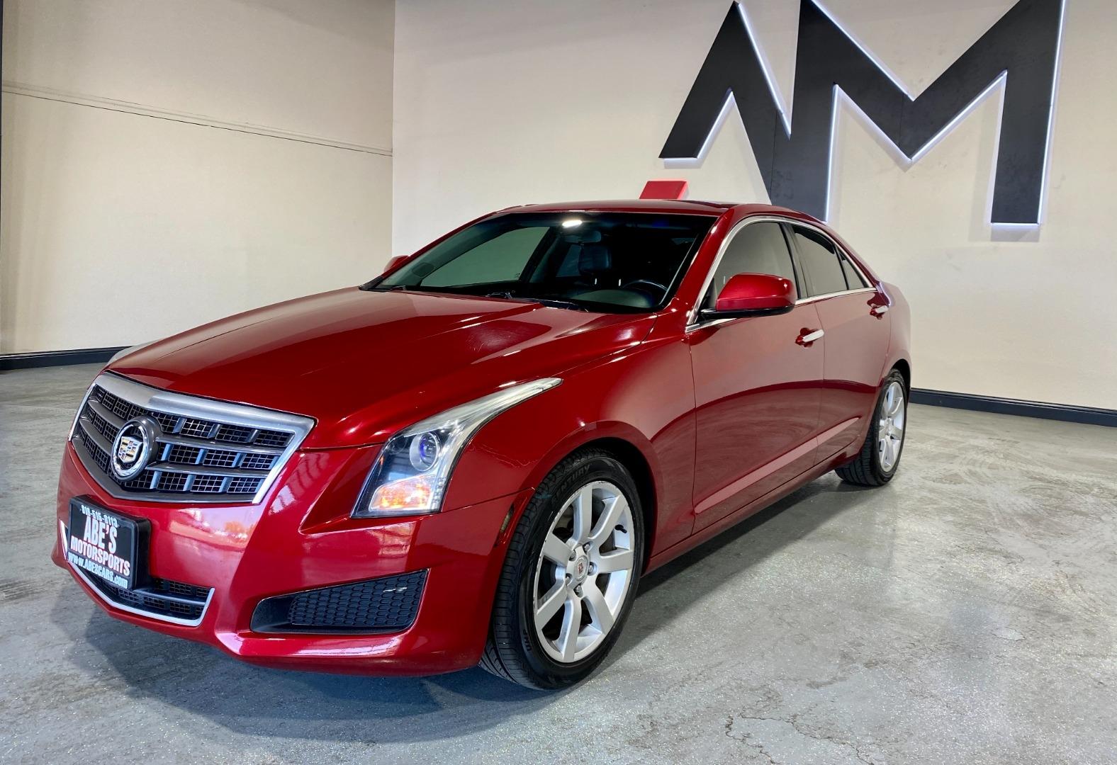 2013 Cadillac Ats 2 5l Rwd Abe S Motorsports Dealership In Sacramento