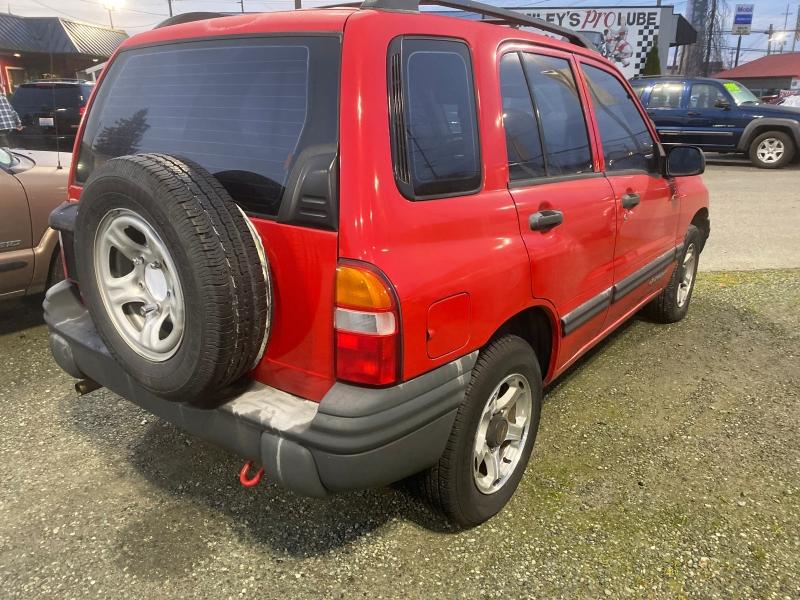 Chevrolet Tracker 2001 price $3,895