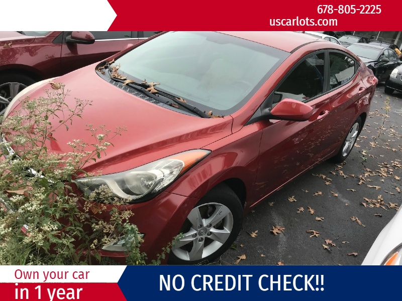 Hyundai Elantra 2012 price $1,700 Down