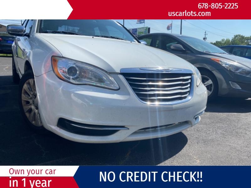 Chrysler 200 2013 price $2,300 Down