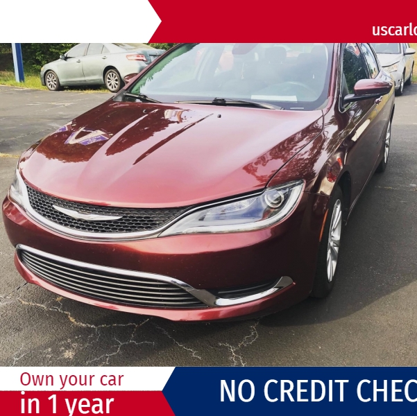Chrysler 200 2015 price $3,000 Down