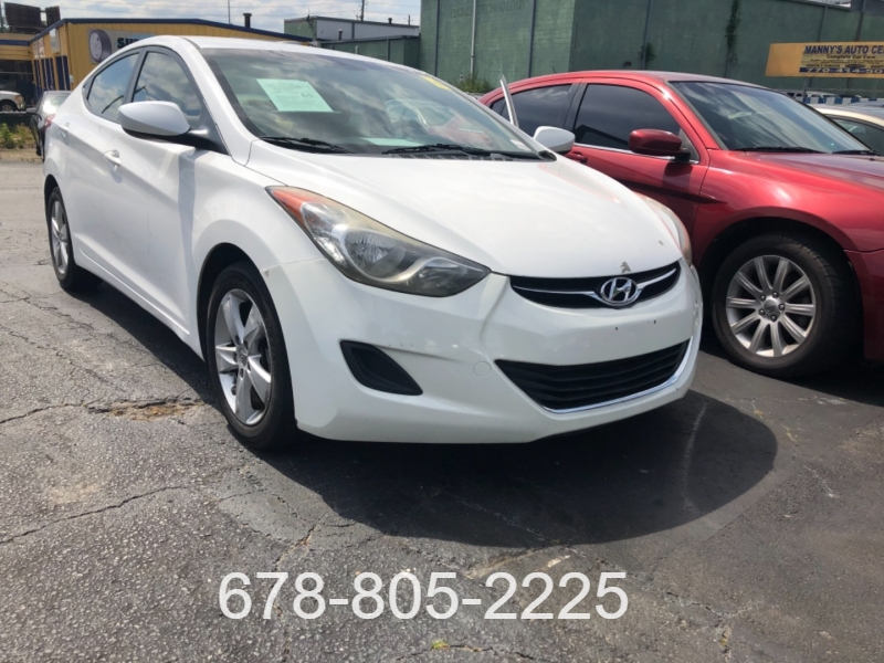 Hyundai Elantra 2013 price $2,500