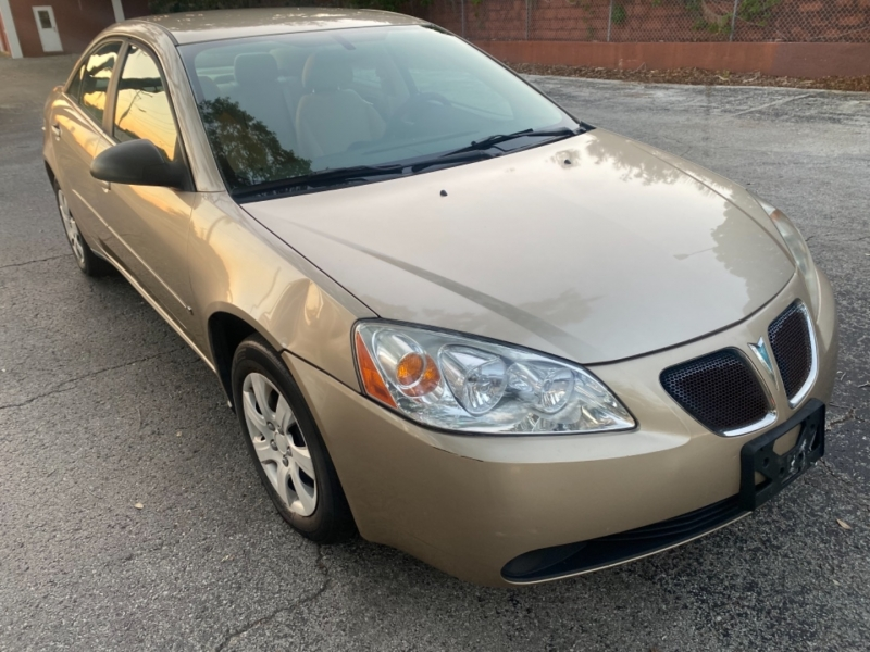 Pontiac G6 2006 price $2,995 Cash
