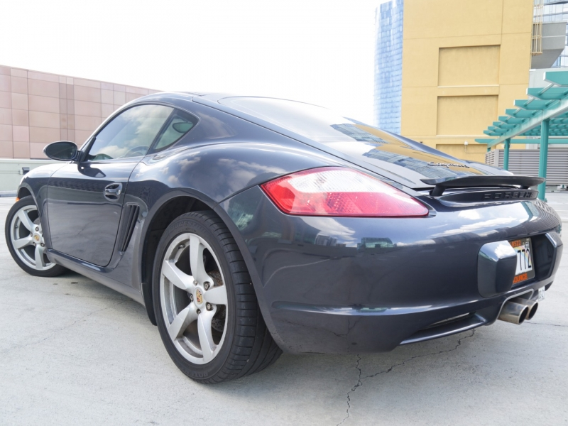 Porsche Cayman Manual 2007 price $26,995