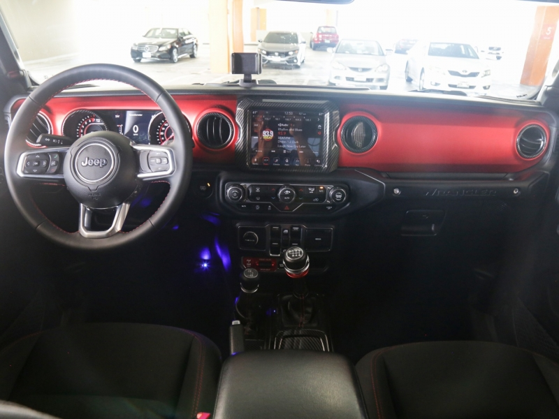Jeep Wrangler Lifted 6in Unlimited Rubicon 4WD Manual 2018 price $59,995