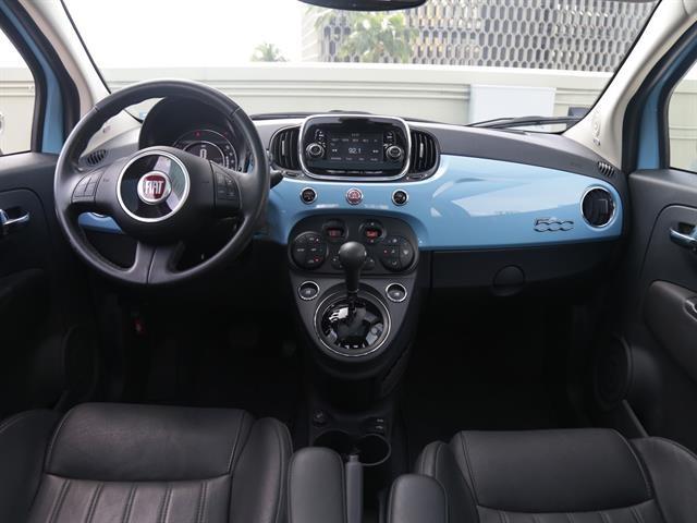Fiat 500 2017 price $16,995