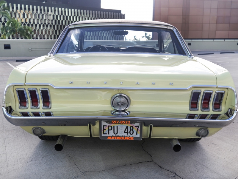 Ford Mustang V8 w/Vinyl Top 1968 price $29,995