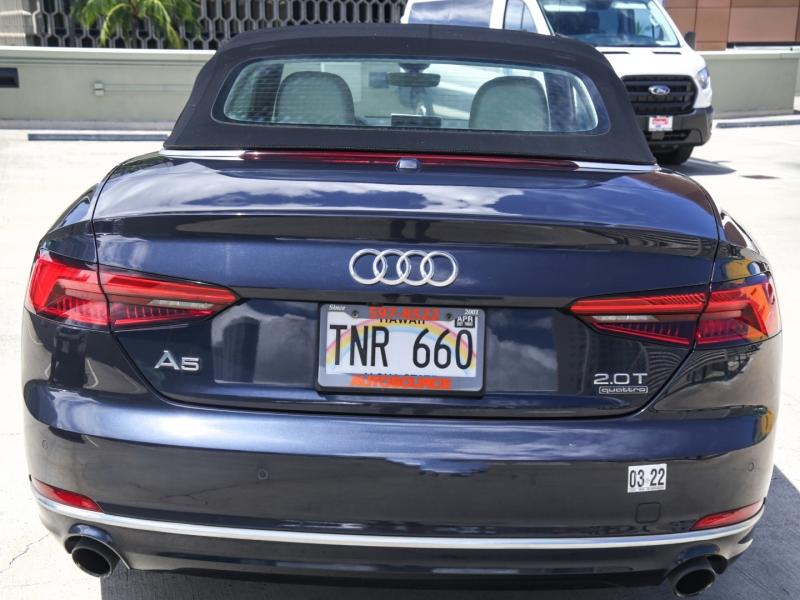 Audi A5 Premium Plus Cabriolet 2018 price $49,995
