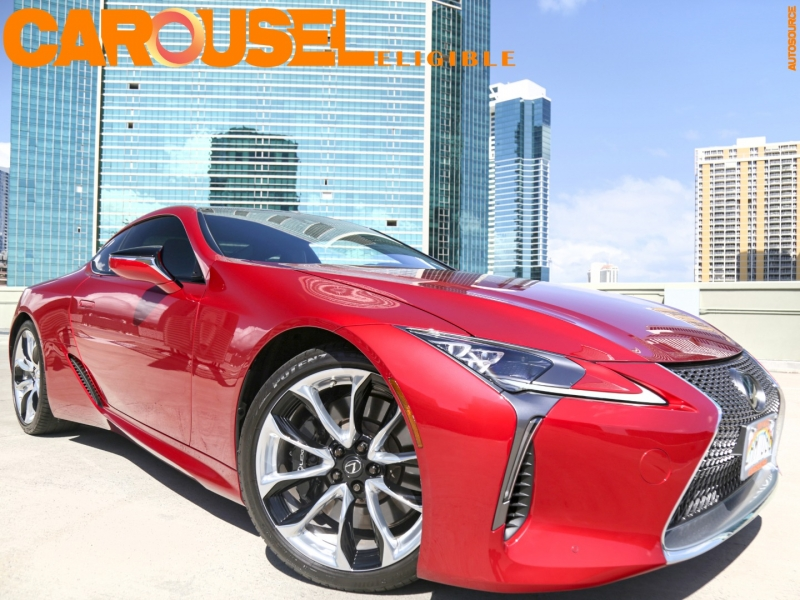 Lexus LC500 Sport Package with Mark Levin's sound system 2018 price $84,995