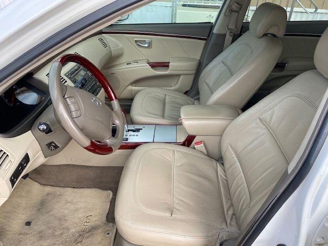 HYUNDAI AZERA 2008 price $4,495