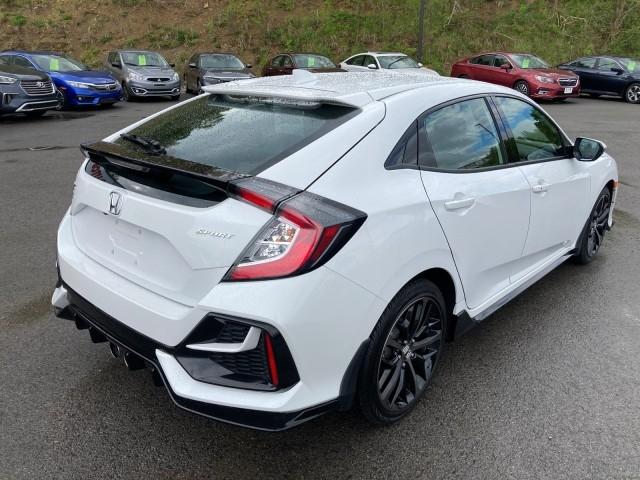 Honda Civic Hatchback 2021 price $22,379