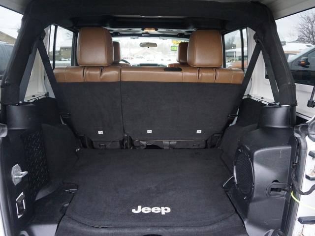 Jeep Wrangler Unlimited 2012 price $22,996