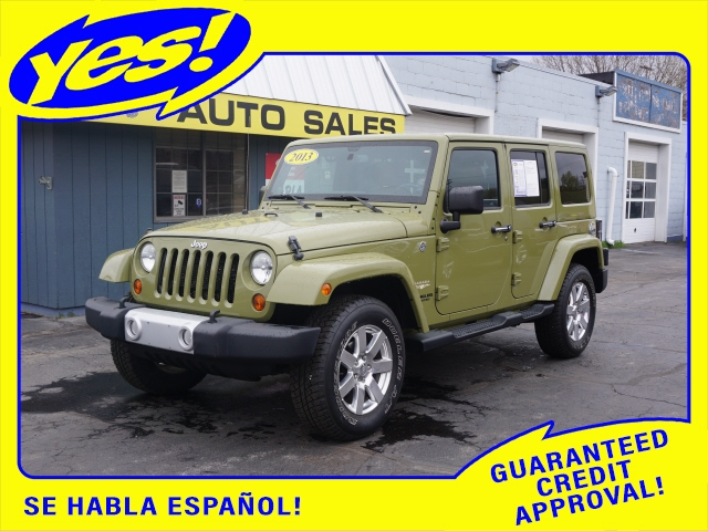 Jeep Wrangler Unlimited 2013 price $25,888