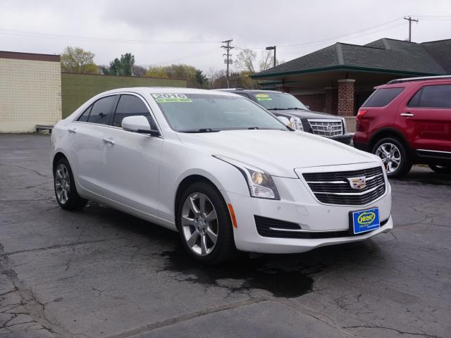 Cadillac ATS 2016 price $17,988
