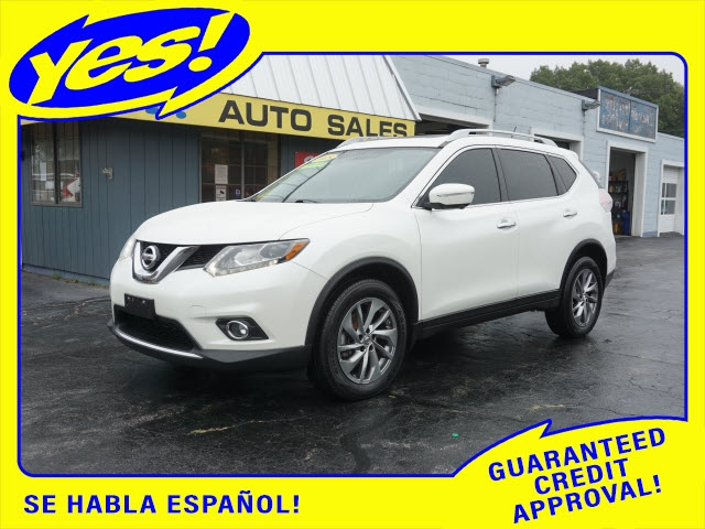 Nissan Rogue 2015 price SOLD