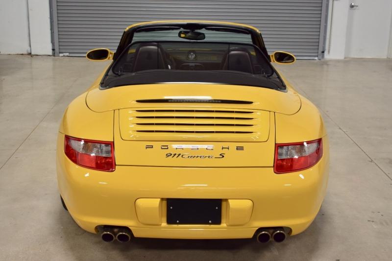 Porsche 911 CARRERA S Cabriolet 6-Speed Manual RARE SPEED 2006 price $44,990
