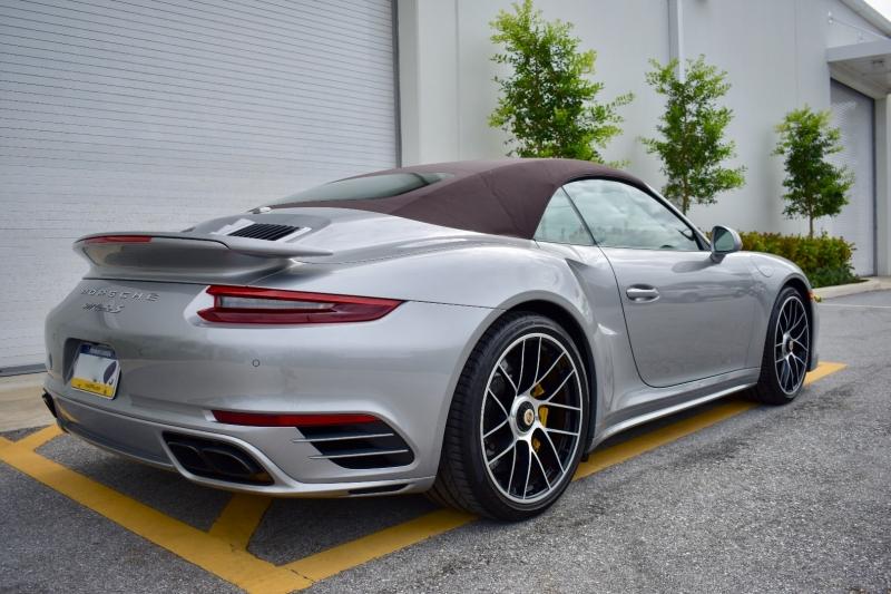 Porsche 911 Turbo S Cabriolet 2019 price $186,500