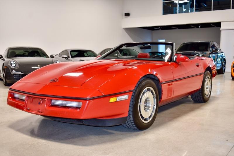 Chevrolet Corvette Convertible 4+3 Manual 1987 price $13,990