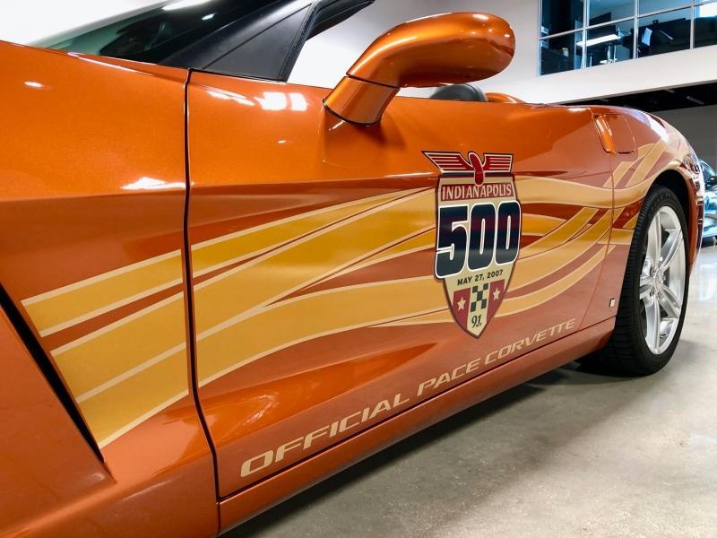 Chevrolet Corvette Indianapolis 500 Pace Car Edition 2007 price $39,900
