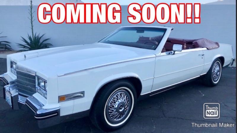 Cadillac Eldorado Convertible Biarritz 1985 price $23,900