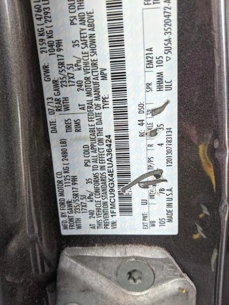 Ford Escape 2014 price $10,495
