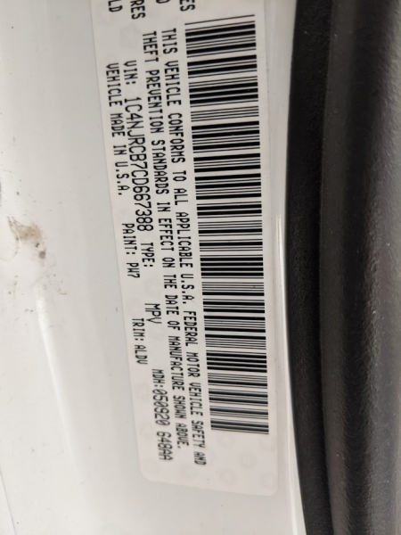 Jeep Patriot 2012 price $7,995