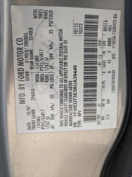Ford Explorer 2008 price $5,595
