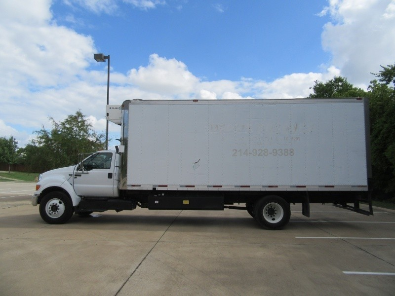 Ford F-650 DRW Reefer Box Truck 2015 price $27,900