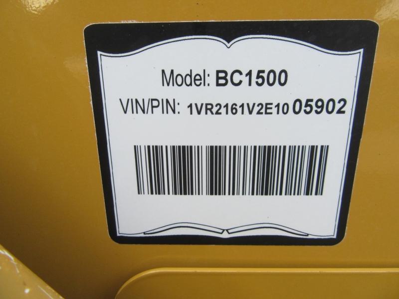 VERMEER BC1500 2014 price $49,950