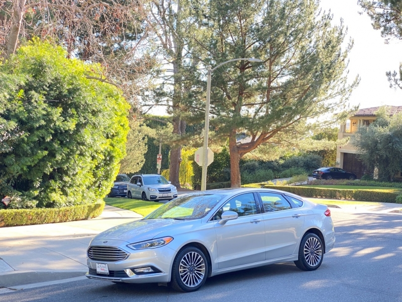 FORD FUSION 2018 price $14,499